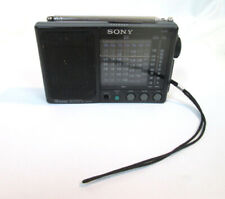 Sony FM/MW/SW Portable Worldwide 9 Band Receiver ICF-SW20 Battery Powered 3.5mm