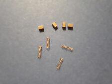 Jeu de 4 charbons carrés avec ressort pour CC-6500/72000/21000 - TAB GERARD