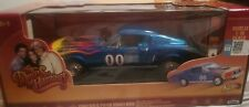 "1:18 COOTER'S 00 Blu 1967 Ford Mustang - Generale Lee "" The Duke of Hazzard"