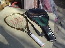 Wilson Graphite Defender Fused Graphite Oversize Tennis Racquet 4 1/4