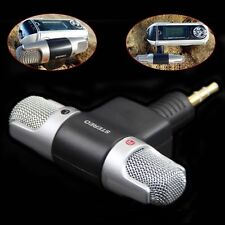 Mini Stereo Microphone Audio Sound Recorder with 3.5mm Jack for Smart Phone _A
