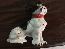 Vintage/ Antique Sitting Boston Terrier Paperweight/ Toy