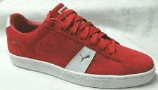 Puma Suede New Classic Red  Men Walking Shoes 9.5
