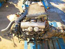 ISUZU TROOPER 4JG2-T 3.1L TURBO DIESEL MOTOR ENGINE AWD MT 4X4 TRANSMISSION 4JG2