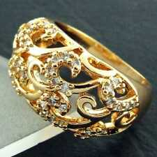 Ring Diamond Gold Filled Vintage & Antique Jewellery