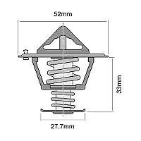 TRIDON Std Thermostat For Toyota 4 Runner (Diesel) LN130R 05/95-06/96 2.8L 3L