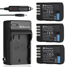 DMW-BLF19E BLF19 Battery / Charger For Panasonic Lumix DMC-GH3 DMC-GH4 Camera US