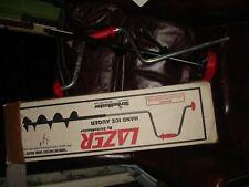 """StrikeMaster Lazer  Hand Auger 4"""" ice auger drill in box"""