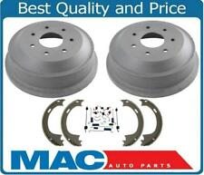 Rear Brake Drums and Shoes for Ford F250 W/ 12x2.5 Inch 7 Stud (2) 1997-1999