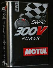 5x2 = 10 Liter Motul 300V Power  5W-40 Motoröl Vollsynthetisch 5W40 RACING ÖL