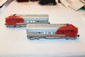 Märklin 3060 4060 US Diesellok F7 Santa Fe 337 mit Ergänzungslok - 1
