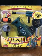 Fisher-Price Rescue Heroes Hero Gear Scuba Diving Pack New in Box