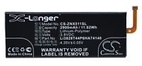 Batterie 2900mAh Art Li3828T44P6HA74140 Li3829T44P6HA74140 für ZTE Nubia Z9