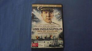 USS Indianapolis Men Of Courage Nicolas Cage - DVD - R4 - Free Postage