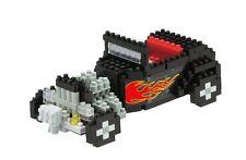 Hot Rod (Level 3) 3-d Nanoblock 300 piezas mini bloques de creación Kawada 14710