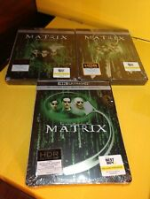 The Matrix (DVD, 2018, SteelBook Includes Digital Copy 4K Ultra HD Blu-ray/Blu-ra)