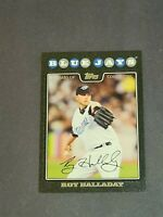 Roy Halladay Toronto Blue Jays 2008 Topps Black #230 8/57