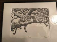 "Signed R.T. Wallen ""Skip"" August 1983 ""Cat's Cradle"" Stone Litho Rare Alaska"