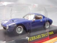 Ferrari Collection 250 GT SWB 1/43 Scale Box Mini Car Display Diecast vol 26