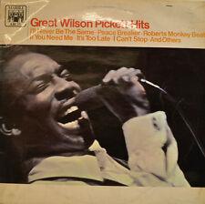"WILSON PICKETT - GREAT WILSON PICKETT HITS 1967 MARBRE ARCH 681 12"" LP (X 7)"