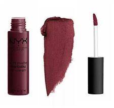 Metallic Lipstick NYX Soft Matte Lip Cream Copenhagen 02 Red/Brown Rust Sealed