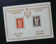 Yugoslavia 1945 Block MNH Croatia Serbia  C1