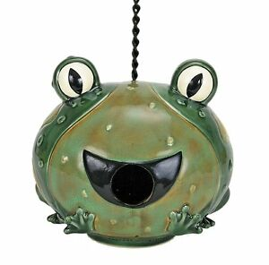 Nature's Garden Frog Bird House, COY-D2555