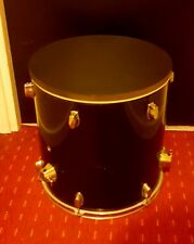 Upcycled Floor Tom Drum Coffee/Side Table *custom colours* with storage inside.