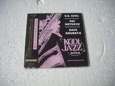 PAT METHENY, B.B.KING, DAVE BRUBECK - KOOL JAZZ AT MIDEM - JAPAN CD MINI LP