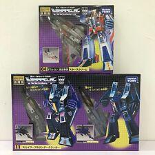 Transformers G1 Encore Starscream Skywarp Thundercracker Seeker Set