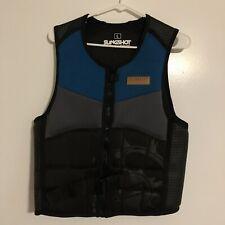 Slingshot Water Sports Impact Vest Wake Crash Jet Ski — Blue, Women's Size Large