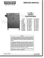 Hobart C-Line e Series Dishwashers Service Manual