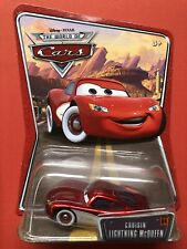 Disney Pixar Cars Cruisin Lightning McQueen Supercharged Die-cast Mattel Toy Car