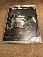 Bucilla Watering Can Vase Plastic Canvas No 6124