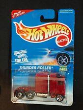 New Hot Wheels Thunder Roller Semi Truck Collector #483 1995