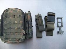 IFAK Erste Hilfe Tasche, Santasche, Koppeltasche, Bundeswehr Flecktarn neuwertig