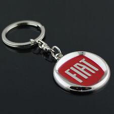 BD1 Fiat 3D Car Keyring Gift Keychain Metal Key Ring Charm Keyfob