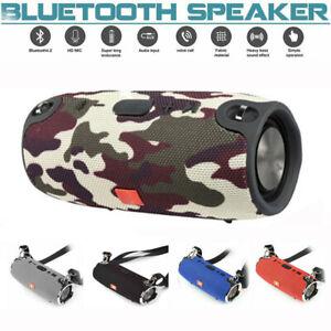 40W Tragbarer Wireless Bluetooth Lautsprecher Stereo Subwoofer SD Musicbox DE