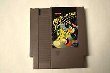 SKATE OR DIE - NES Nintendo
