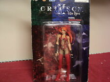 """Crimson Action Figures 6"""" Scarlet x Thunderbolt red hood figurine new in box"""