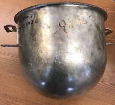 Hobart 12 Qt Tin Mixer Bowl For Hobart 20 Qt Classic Mixer