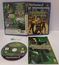 Gioco Game SONY Playstation 2 PS2 PAL ITALIANO / SYPHON FILTER THE OMEGA STRAIN