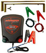 Electric Fence Energiser 12V Unit ShockRite SRB120 1.2J Fencer
