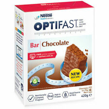 Optifast VLCD Low Calorie Diet Chocolate Bar, 70g - 6 Bars