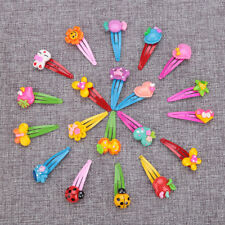 10Pcs/Lot Flower Hair Clips Lovely For Baby Girl Hairwear Kids Hair Hairpins