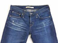 Big Star Billie Boyfriend Distressed Womens Denim Jeans Pants sz 25 Actual W28