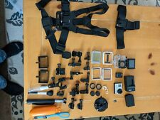 GoPro Hero 3 Silver Edition Camcorder/Action Camera With Accessories Used.