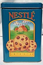 Vintage Nestle-Toll house-Morsels-Limited Edition Tin-Canister Collectible