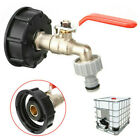 IBC Tote Tank Valve Drain Adapter 1/2' Garden Hose  Faucet Water Connector US