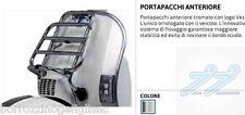 PORTAPACCHI ANTERIORE CROMATO ORIGINALE VESPA PX 125 - 150 COD.673717